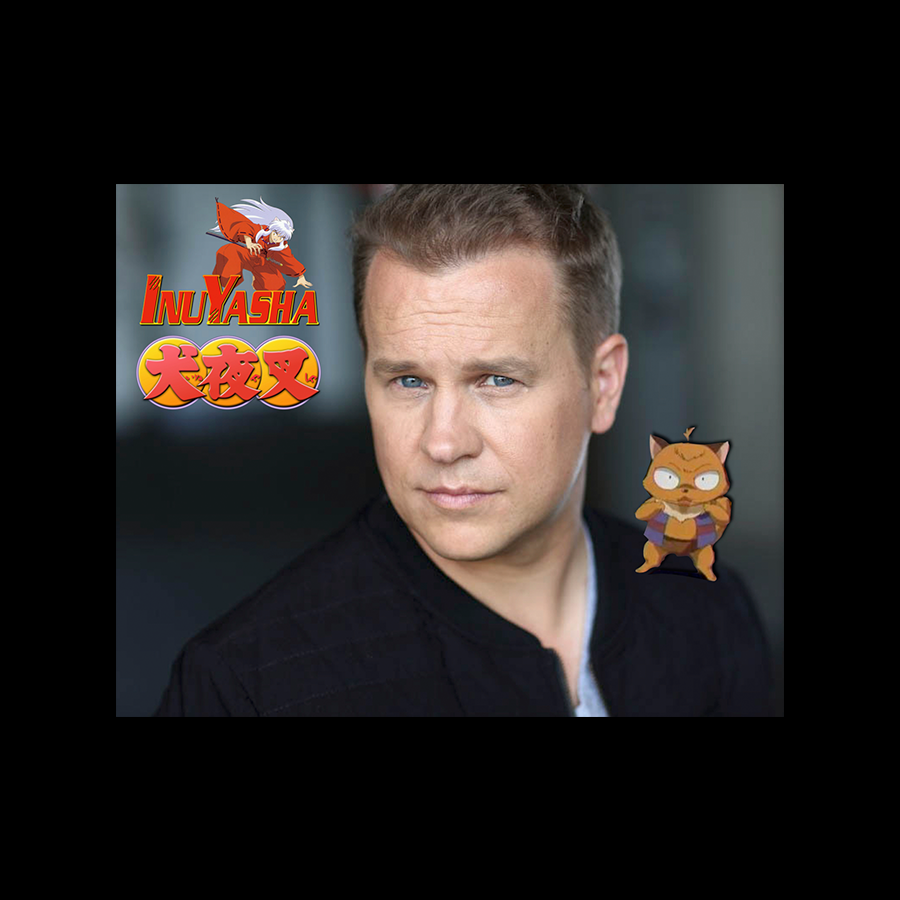 Michael Coleman Voice Actor for Inuyasha