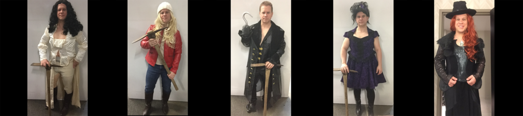 Michael Coleman Acting Costumes