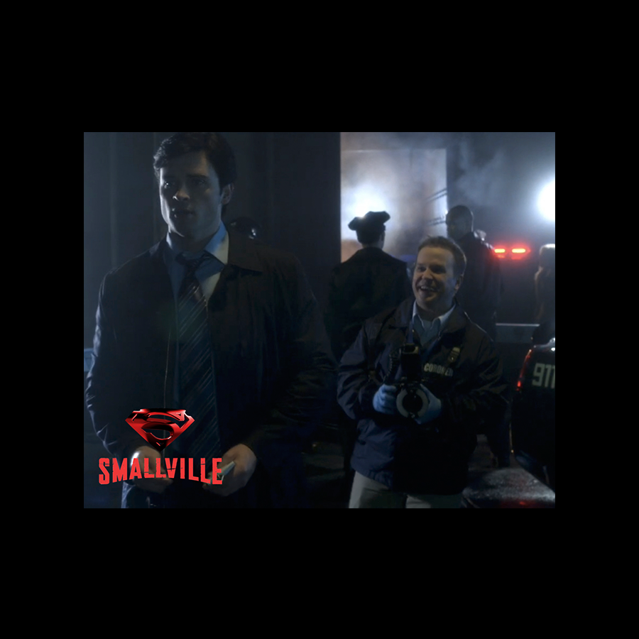Michael R Coleman Acting in Smallville